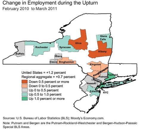 Upturn-map