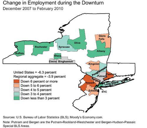 Downturn-map