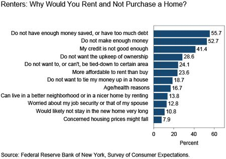 Why Renters Would Rent and Not Purchase a Home