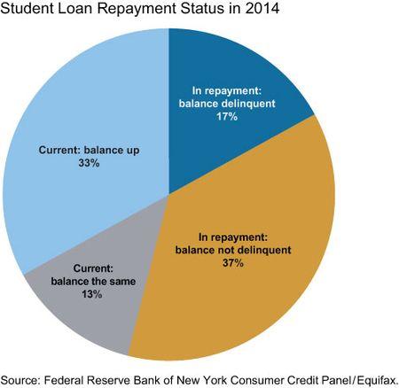 Student Loan Repayment Status in 2014