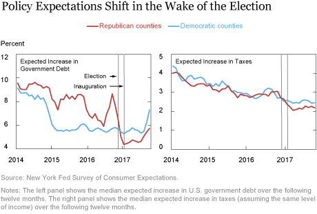 Political Polarization in Consumer Expectations