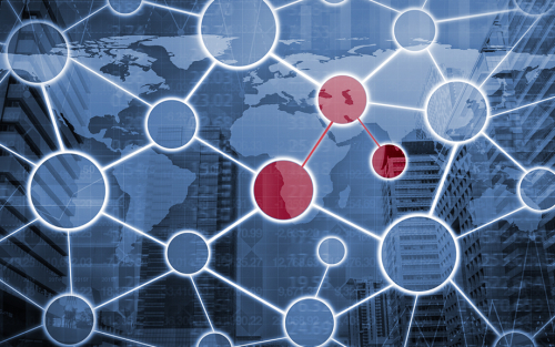 Assessing Contagion Risk in a Financial Network