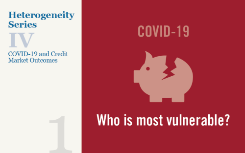 Are Financially Distressed Areas More Affected by COVID-19?
