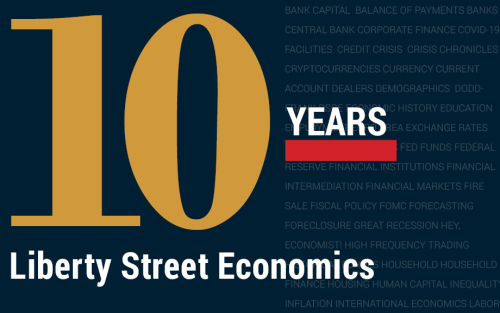 Looking Back at 10 Years of Liberty Street Economics