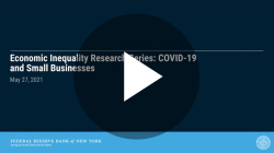 COVID-19 and Small Businesses: Uneven Patterns by Race and Income